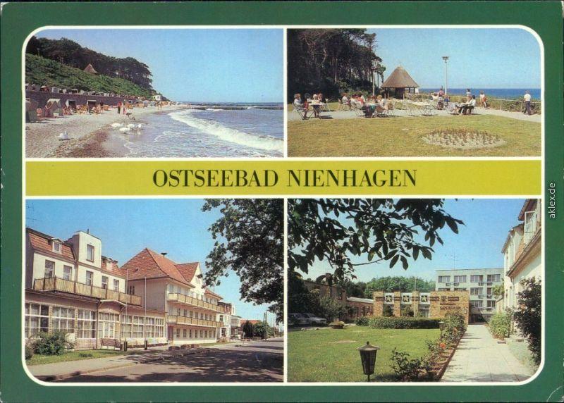 Nienhagen Strand, Betriebsakademie des  FDGB-Erholungsheim
