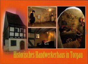 Ansichtskarte Torgau Historisches Handwerkshaus 1995