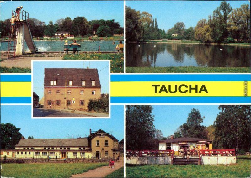 Freibad Taucha taucha stadtbad heimatmuseum ho kulturhaus stadthalle imbiß 1981