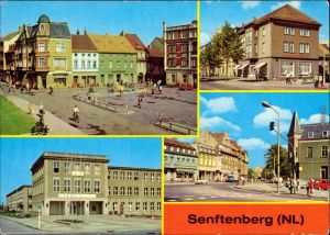 Senftenberg (Niederlausitz) Stadtcafé Ernst Thälmann, Bahnhofstraße 1980