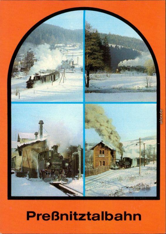 Jöhstadt (Erzgebirge) Schmalspurbahn Wolkenstein - Jöhstadt 1984