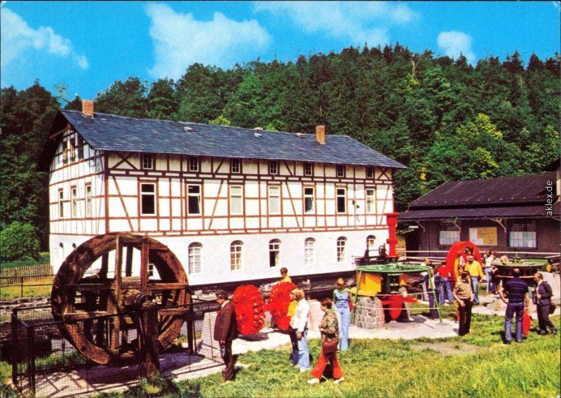 Ansichtskarte Ziegenrück/Saale Museum für Wasserkraftnutzung c1982