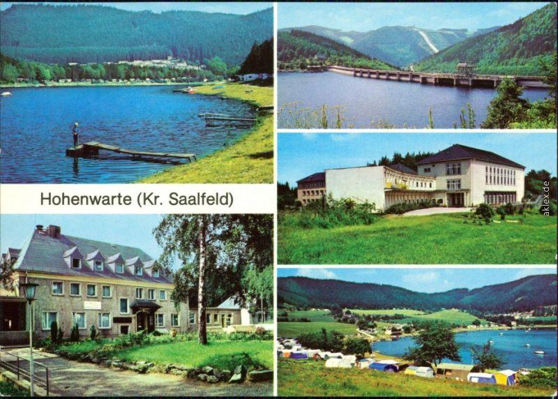 Hohenwarthe Möser Campingplatz N 12 an der Saaseite, FDGB ...