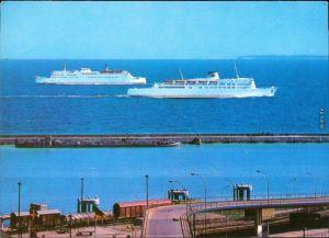 Sassnitz Saßnitz  schwedischen Fährschiffe