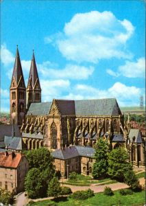 Ansichtskarte Halberstadt Dom 1974