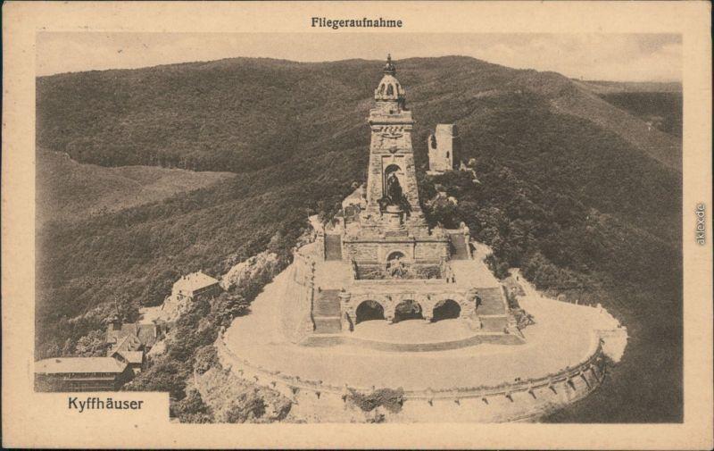 Ansichtskarte Kelbra (Kyffhäuser) Kyffhäuser-Denkmal Luftbild 196