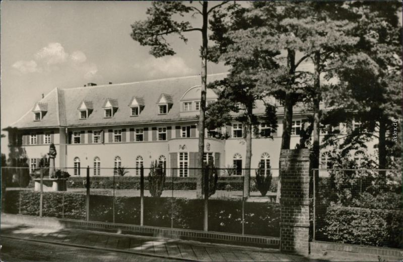 Ansichtskarte Graal-Müritz Sanatorium