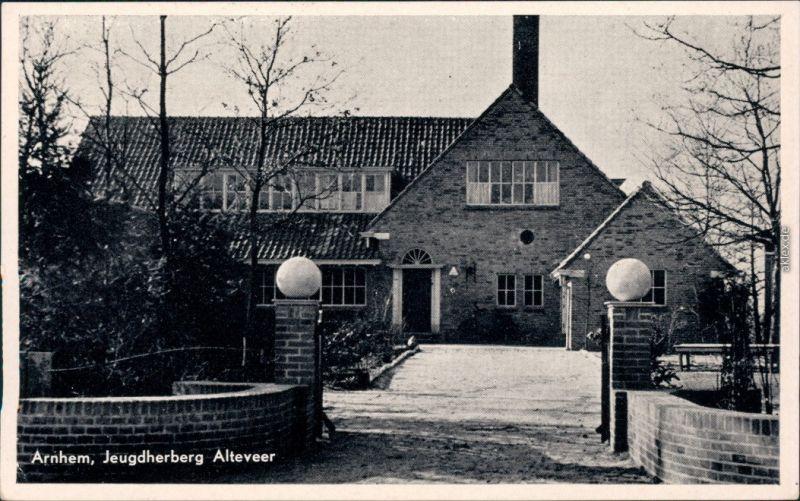 Ansichtskarte Arnheim Arnhem Jugenherberg Alteveer 1954