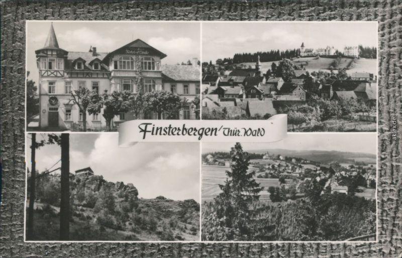 Finsterbergen-Friedrichroda Panorama-Ansichten, Volkshaus