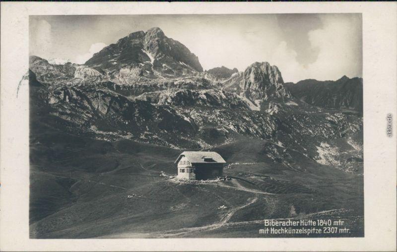Bregenz Biberacher Hütte 1840 m am Schadonapass/Biberacher Hütte  1915