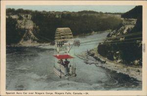 Niagara Falls (Ontario) über den Niagarafälle / Niagara Falls (Canada) 1950