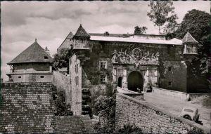 Ansichtskarte Tübingen Schloss Hohentübingen: Schlossportal 1964