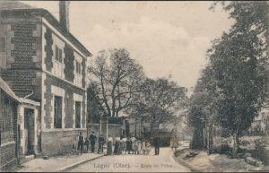 Ansichtskarte Lagny (Laigny-les-Chataigniers) Ecole de Filles/Schule 1915
