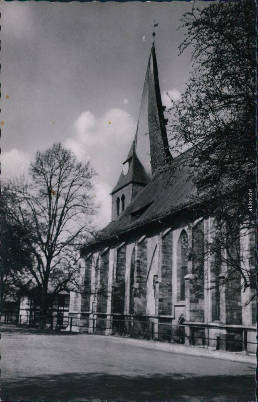 Ansichtskarte Northeim (Hann.) St. Sixti Kirche 1968