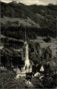 Ansichtskarte Bad Tölz Stadtpfarrkirche 1960