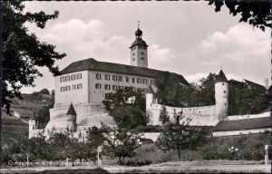 Ansichtskarte Gundelsheim (Württemberg) Burg/Schloss Horneck (Hornegg) 1960