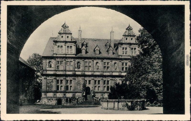 Ansichtskarte Friedewald Schloss Friedewald 1955