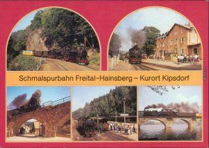 Kipsdorf-Altenberg (Erzgebirge) Schmalspurbahn Freital-Hainsberg-Kurort   1989