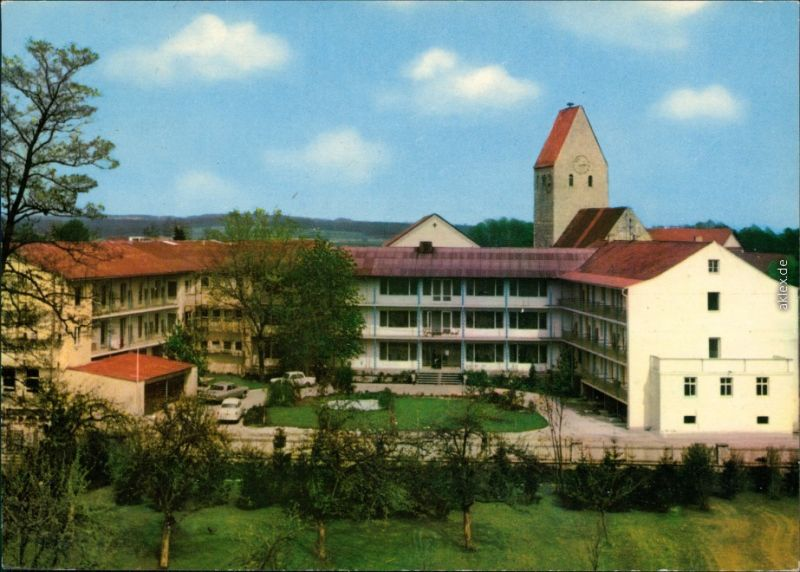 Ansichtskarte Neustadt a.d.Donau Trajansbad 1979