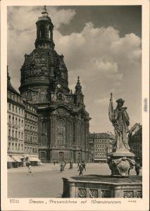 Innere Altstadt-Dresden Frauenkirche vor der Zerstörung 1960 Walter Hahn:4452