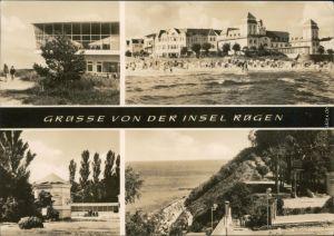 Ansichtskarte Sellin Insel Rügen: Baabe, Binz, Göhren, Sellin 1966