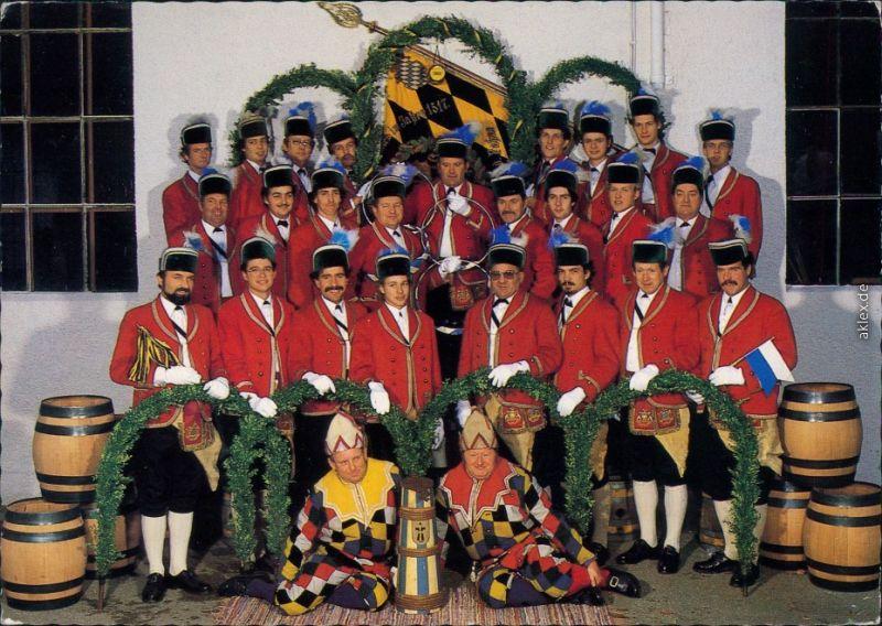 Ansichtskarte München Schäfflertanz - Reigentänzergruppe 1985