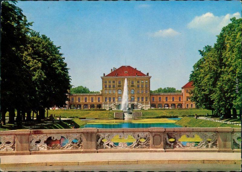 Ansichtskarte München Schloss Nymphenburg 1977