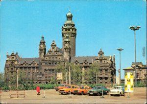 Ansichtskarte Leipzig Neues Rathaus BILD UND HEIMAT 1980