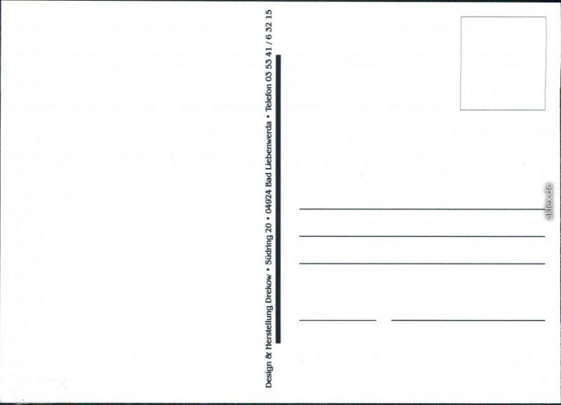 Ansichtskarte Bad Liebenwerda Humor: Rheumaklinik/Fontana-Klinik 2000