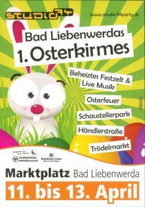 Bad Liebenwerda Reklame & Werbung: 1. Osterkirmes in Bad Liebenwerda 2000
