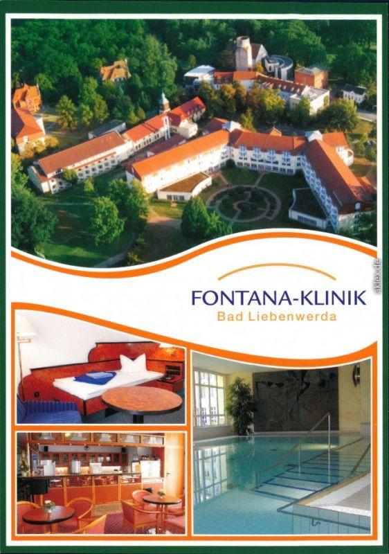 Ansichtskarte Bad Liebenwerda Rheumaklinik/Fontana-Klinik 2000