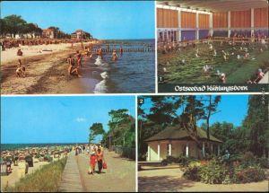 Kühlungsborn FDGB-Meerwasserschwimmhalle, Strand, Konzertgarten Ost 1975
