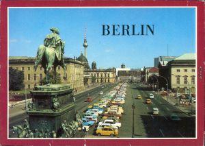 Ansichtskarte Mitte-Berlin Unter den Linden 1987