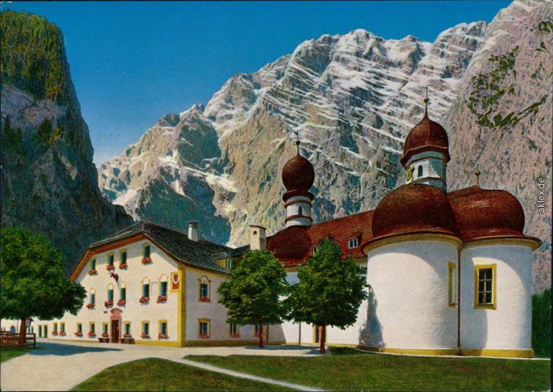St. Bartholomä-Schönau am Königssee St. Bartholomä am Königssee 1992