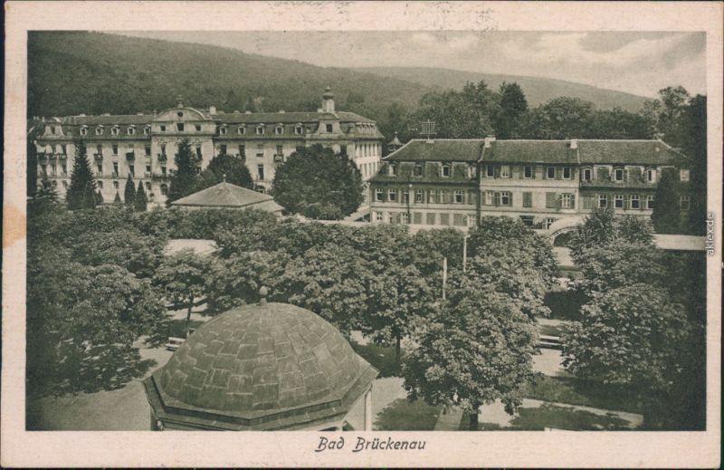 Ansichtskarte Bad Brückenau Ortsmotiv 1923