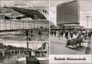 Warnemünde-Rostock Hafen, Hotel Neptun, Schwimmhalle Neptun Am Alten Strom 1978