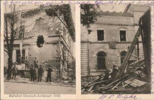 Ansichtskarte Avricourt (Moselle) Bahnhof Deutsch-Avricourt 1915 1916