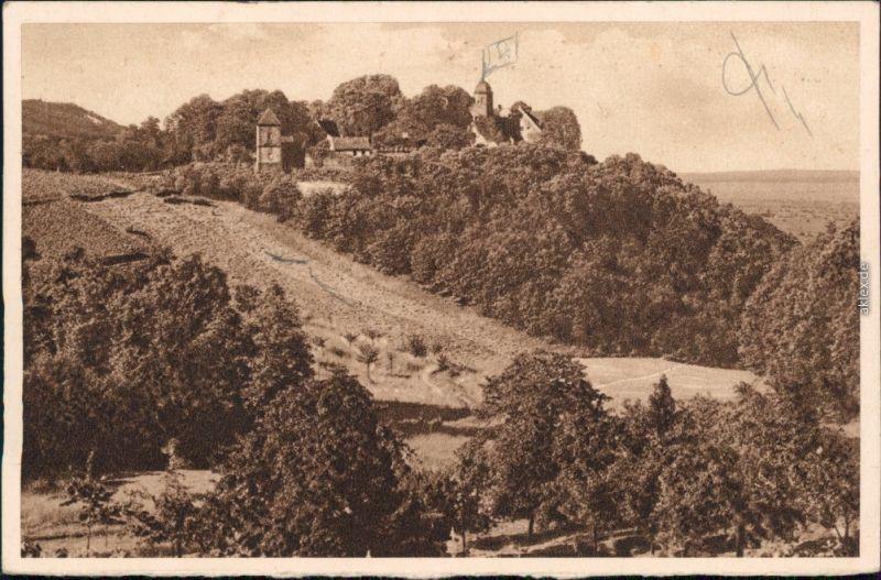 Sankt Martin (Pfalz) Die Kropsburg, Reichswinterhilfe-Lotterie 1934