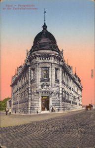 Ansichtskarte Basel Post - Zentralbahnstraße 1916