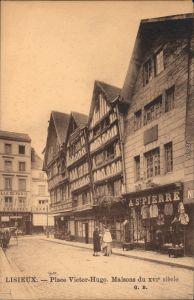 Lisieux Place de Victor-Hugo/Victor-Hugo Platz, Wohnungen des 16. JH. 1914