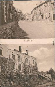 Ansichtskarte Blâmont (Blankenberg) Ortsmotiv - Schloss Ruine 1917