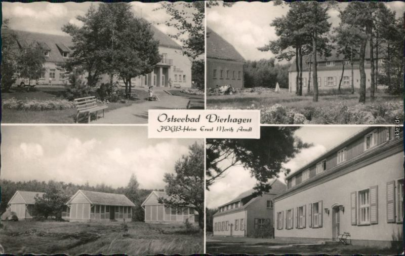 Ansichtskarte Dierhagen FDGB-Heim Ernst-Moritz-Arndt 1965