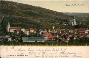 Ansichtskarte Barr (Elsaß) Barr (Bas-Rhin) Stadt und Weinreben 1901
