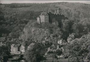 Ansichtskarte Greiz Oberes Schloss 1984