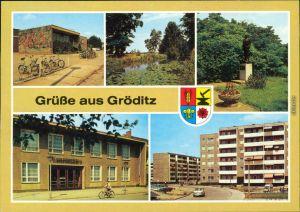 Gröditz Schwimmhalle,  Kulturstätte, Robert-Schumann-Straße 1988 #