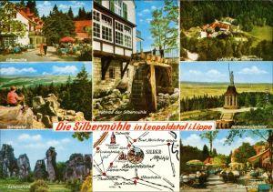 Leopoldstal Horn-Bad Meinberg Gasthaus/Waldhotel   Externsteine 1973