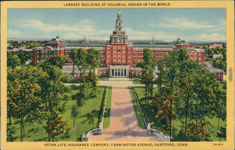 Hartford Aetna Life Insurance Company, Farmington Avenue 1925