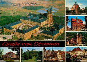 Ansichtskarte Bamberg Kloster Banz 1975