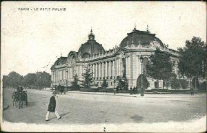 Ansichtskarte Paris Le Petit Palais 1910