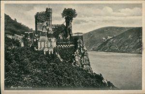 Ansichtskarte Bingen am Rhein Burg / Schloss Rheinstein 1932